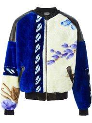 куртка бомбер с узором Andrea Crews