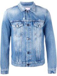 классическая джинсовая куртка Palm Angels