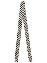 polka dot silk scarf Reinaldo Lourenço
