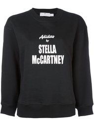 толстовка с принтом логотипа   Adidas By Stella Mccartney