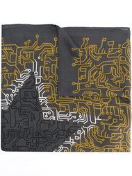 шарф с графическим рисунком Furla