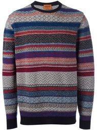 свитер с узором  Missoni