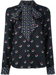 рубашка с цветочным принтом  Marc Jacobs