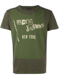 футболка с принтом логотипа   Marc Jacobs