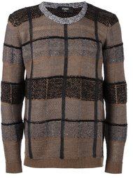 лоскутный свитер  Fendi