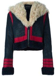 куртка с панелью из овчины Cédric Charlier