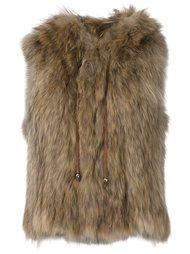 меховая куртка 'Finch' без рукавов Zadig & Voltaire