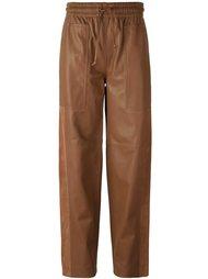 свободные брюки прямого кроя Joseph
