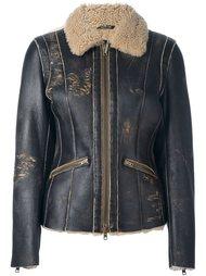 куртка с эффектом потертости Maison Margiela