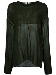 свитер с высокой горловиной Damir Doma