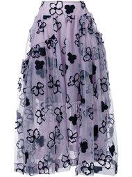 юбка с цветочным узором Simone Rocha