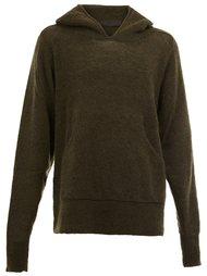 knitted hoodie  Haider Ackermann