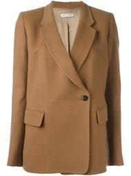 однобортное пальто Each X Other