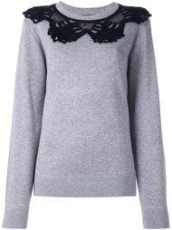 свитер с ажурным воротником  Marc Jacobs