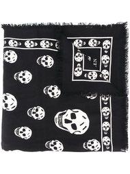 шарф 'Skull' Alexander McQueen