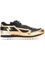 кроссовки с панельным дизайном Les Hommes