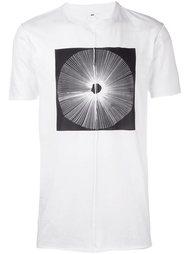 футболка с принтом Damir Doma
