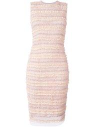облегающее платье с присборенными деталями Givenchy