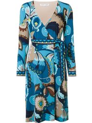 abstract print V-neck dress Trina Turk