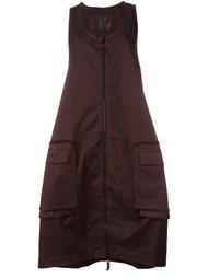объемное платье на молнии Rundholz