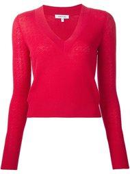 свитер c V-образным вырезом  Elizabeth And James
