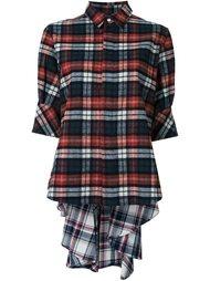 фланелевая рубашка в клетку Mihara Yasuhiro