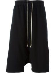 шорты-шаровары Rick Owens DRKSHDW