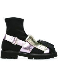 ботинки с ремешками MSGM