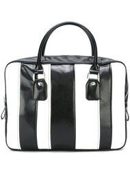 большая сумка-тоут в полоску Comme Des Garçons Comme Des Garçons