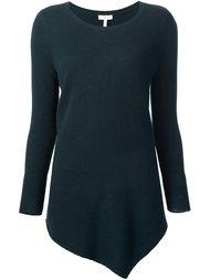 свитер асимметричного кроя  Joie