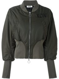 куртка бомбер с эластичными манжетами Gcds