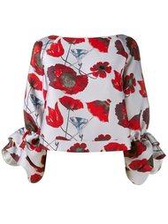 блузка с принтом Osman