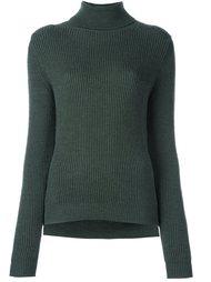 пуловер с высокой горловиной в рубчик P.A.R.O.S.H.