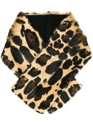 шарф с леопардовым узором Sonia Rykiel