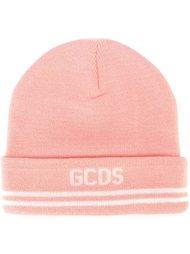 шапка-бини с логотипом Gcds