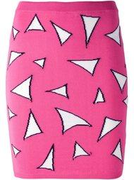 юбка с геометрическим принтом Jeremy Scott