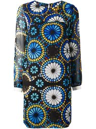 kaleidoscope print dress  Miahatami