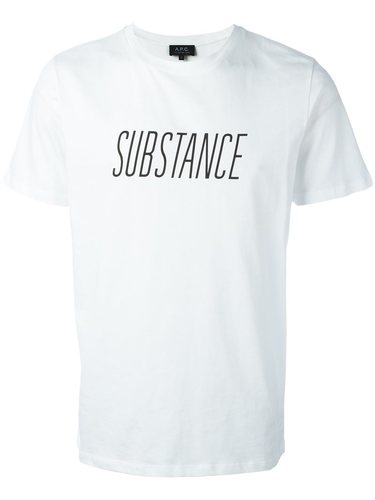 футболка 'Substance' A.P.C.