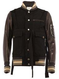 pocketed bomber jacket Maison Mihara Yasuhiro