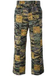 свободные камуфляжные брюки Palm Angels