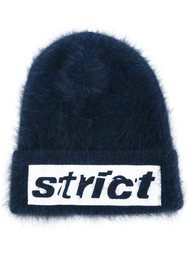 шапка с контрастной аппликацией strict  Alexander Wang