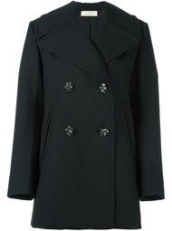 короткое двубортное пальто Nina Ricci