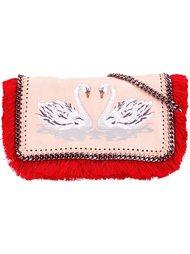сумка через плечо 'Falabella' с лебедями Stella McCartney