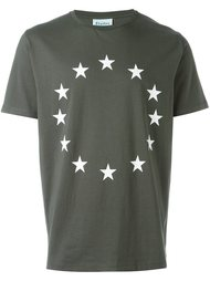 футболка со звездами Études Studio
