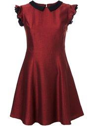 платье с оборками на рукавах Loveless