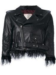 укороченная декорированная куртка Antonio Marras