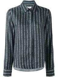 рубашка с цепочным принтом Carven