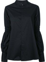 рубашка со стилизованными рукавами Mihara Yasuhiro