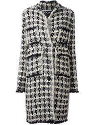 пальто ручной вязки Rochas