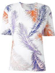 футболка с принтом 'leaves' Emilio Pucci